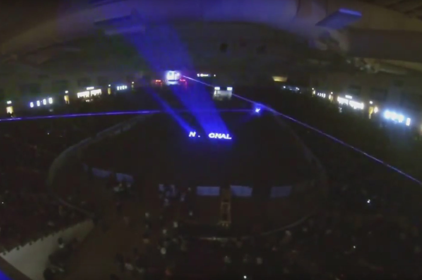 Nu Salt Laser Light Shows International for South Point Casino INFR 2015