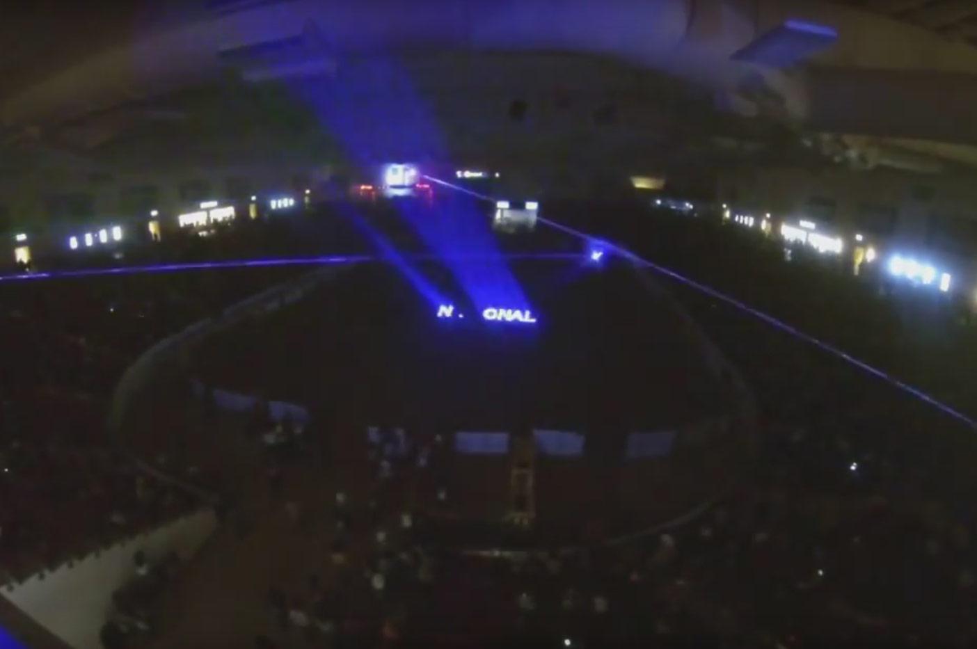 Nu Salt Laser Light Shows International for South Point Casino INFR 2015