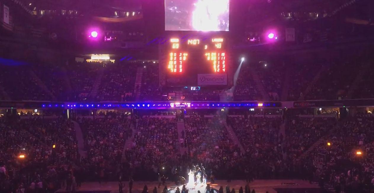 Sacramento Kings VS LA Lakers Bollywood half time show with Anjali Ranadive