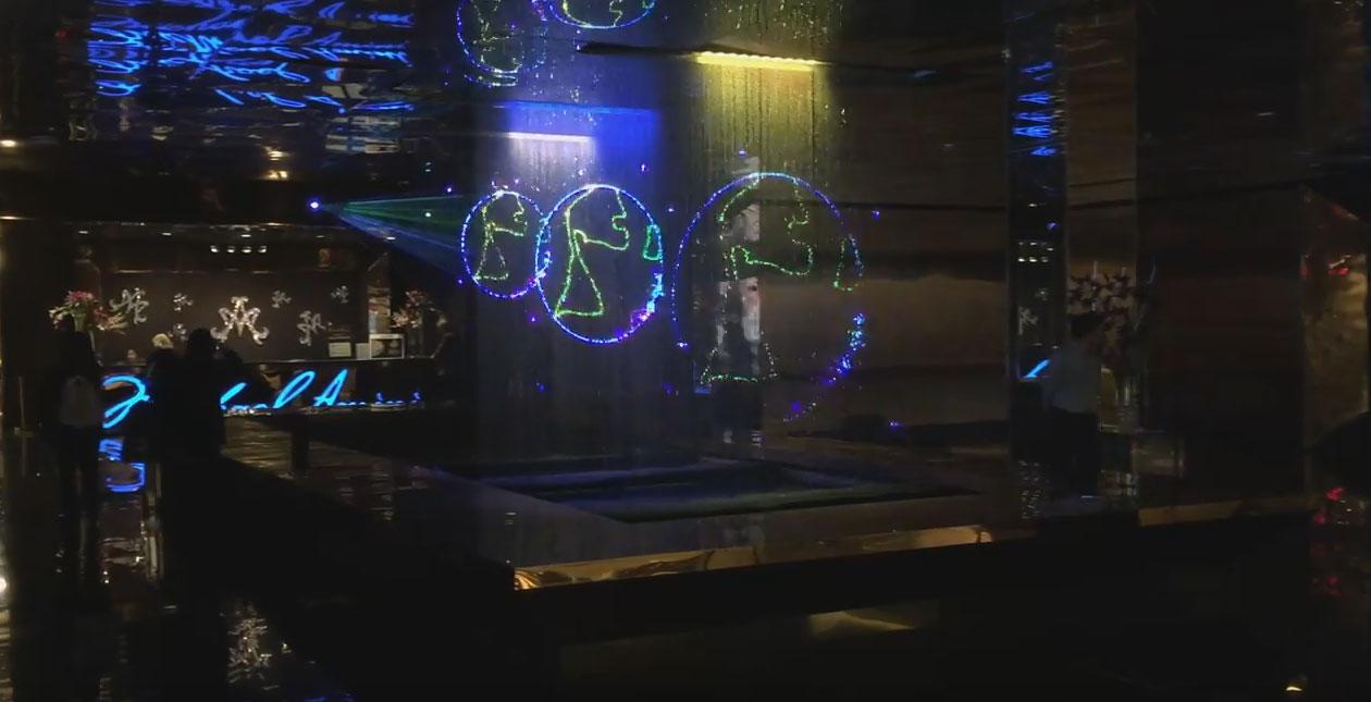 Winter 2016 Las Vegas Market with Michael Amini and nu-salt laser light shows