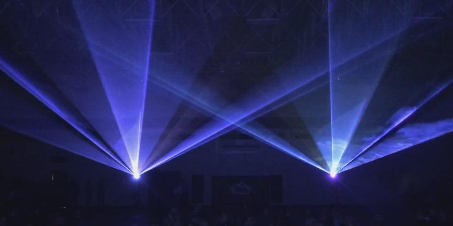 Laser Lighting Nu Salt Light Shows
